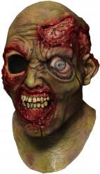 Maschera integrale animata da zombie di Halloween