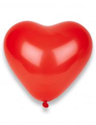 50 Palloncini a forma di cuore color rosso