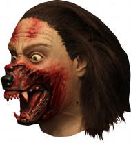 Maschera integrale Hemlock Grove™ trasformazione in lupo mannaro