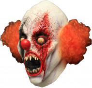 Maschera integrale da clown mangia uomini per Halloween