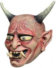 maschera da demone Oni per Halloween