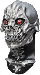 Maschera Halloween: teschio argentato distruttore