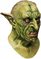 Maschera Halloween: gnomo verde terrificante