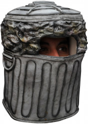 Maschera da bidone della spazzatura