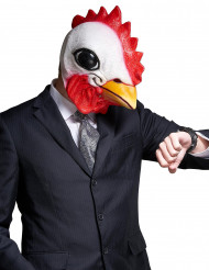 Maschera Gallo in lattice per adulto