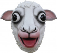 Maschera Montone Bianco