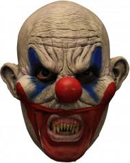 Maschera Halloween: pagliaccio malefico