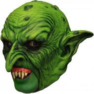 Maschera Halloween: gnomo verde malefico