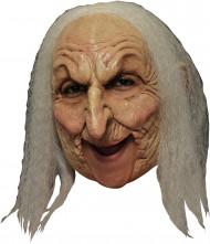 Maschera Halloween: vecchia strega deluxe