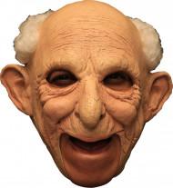 Maschera da vecchio in lattice deluxe