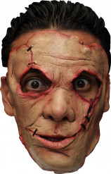 Maschera assassino con punti di sutura Halloween