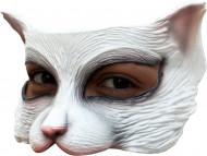 Maschera gatto bianco