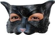 Image of Maschera gatto nero per adulto