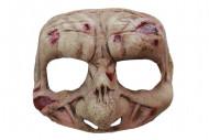 Mezza maschera zombie Halloween