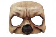 Mezza maschera cranio Halloween