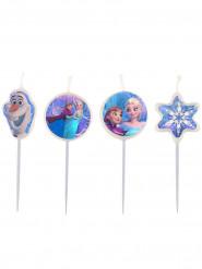 4 Candeline per torta Frozen - Il regno di Ghiaccio™