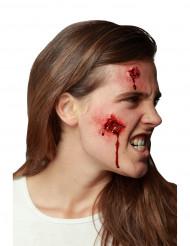 Trucco Halloween: ferita aperta
