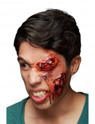 Trucco Halloween: ferita all'occhio