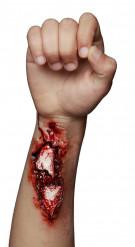 Fintoa ferita aperta trucco di Halloween