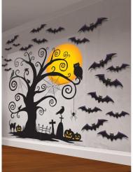 Kit decorazione murale cimitero Halloween