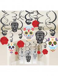 30 decorazioni di halloween a spirali
