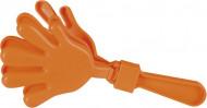 Manine di plastica arancione