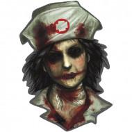 Decorazione murale zombie infermiere