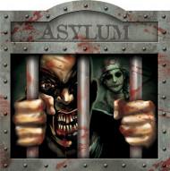 Decorazione da muro Asylum Halloween