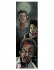 Decorazione Halloween: quadro con zombie