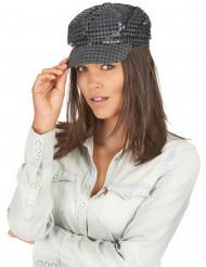 Cappello disco nero