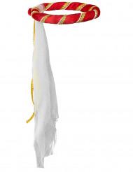 Copricapo medievale rosso bambina
