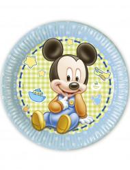 8 Piatti di carta Baby Mickey™