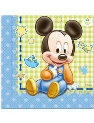 20 Tovagliolini di carta baby Mickey™