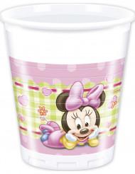 8 Bicchieri di plastica Baby Minnie™