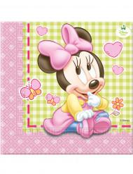 20 Tovagliolini di carta Baby Minnie™