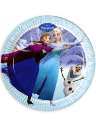 8 piatti blu La regina delle nevi™