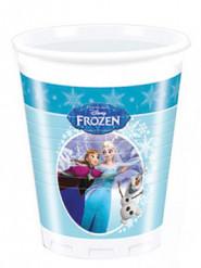 8 Bicchieri di plastica Frozen-Il Regno di Ghiaccio™