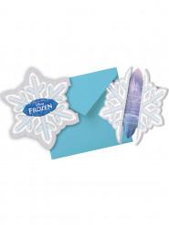 Confezione carte d'invito + busta Elsa Frozen™