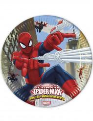 8 Piatti di carta Spiderman™