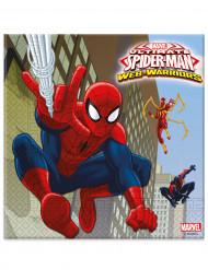20 Tovagliolini di carta Spiderman™