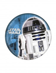 8 Piattini di carta Star Wars™ 20 cm
