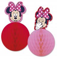 2 Festoni di carta alveolata Minnie™