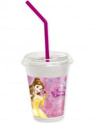 12 Bicchieri con coperchio Principesse Disney™