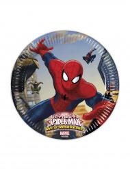 8 Piattini di carta Spiderman™