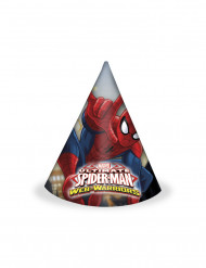 6 Cappelli di carta Spiderman™