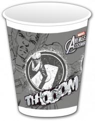 8 bicchieri plastica girgia Avengers™
