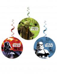 3 Decorazioni vortice a sospensione Star Wars™