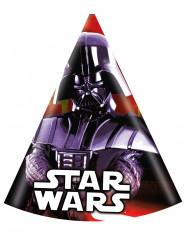 6 cappellini da festa Dart Fener Star Wars™