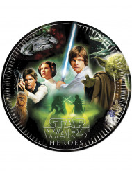 8 Piattini di carta Star Wars™