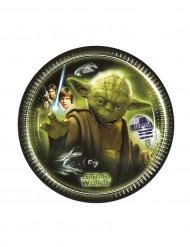 8 Piatti carta Star Wars™